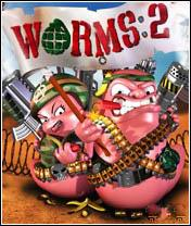 FREE java game: Worms 2