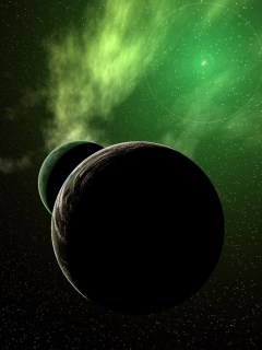 Green fog of the Universe