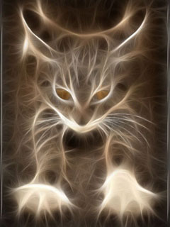 Mythical kitten