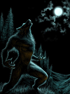 Howl of a werewolf