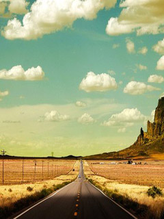 Road – freedom - happiness