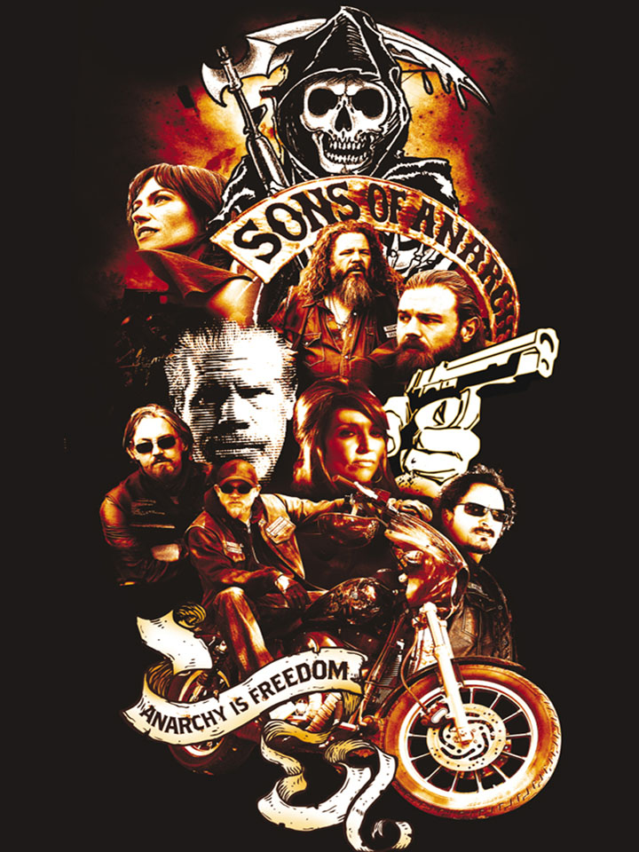 Sons of Anarchy screen