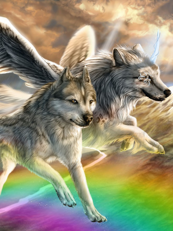 Wolves with wings