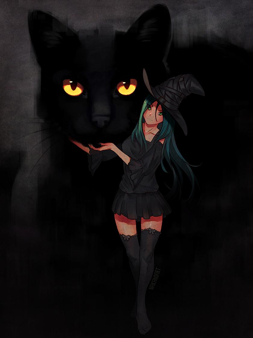 Обои ведьмочка. Разное foto 16
