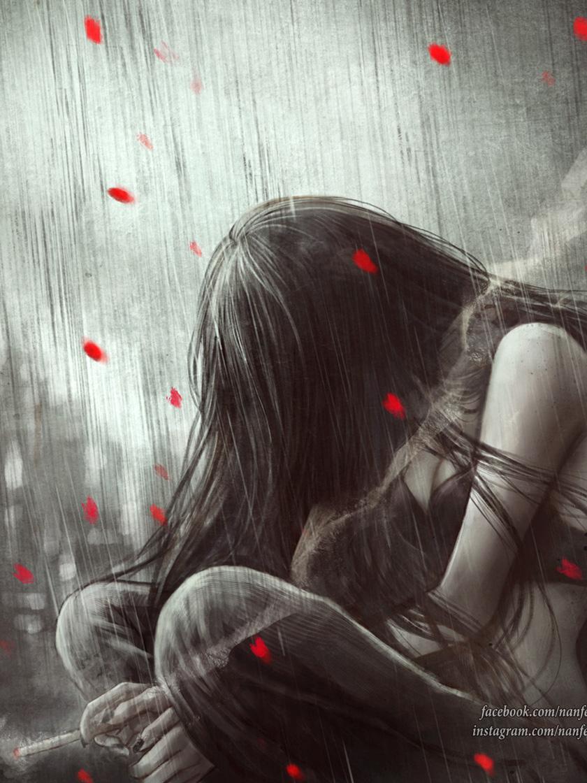 грустные картинки про разбитое сердце прекрасные