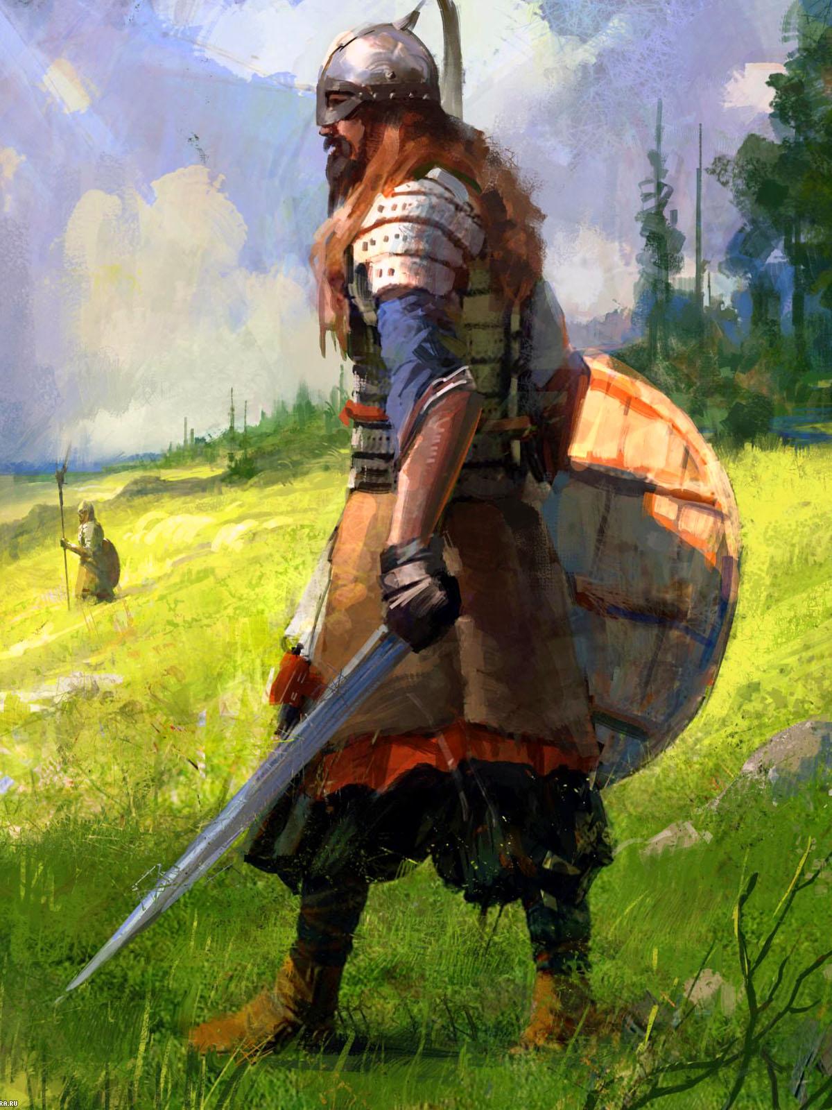 Картинки славян воинов