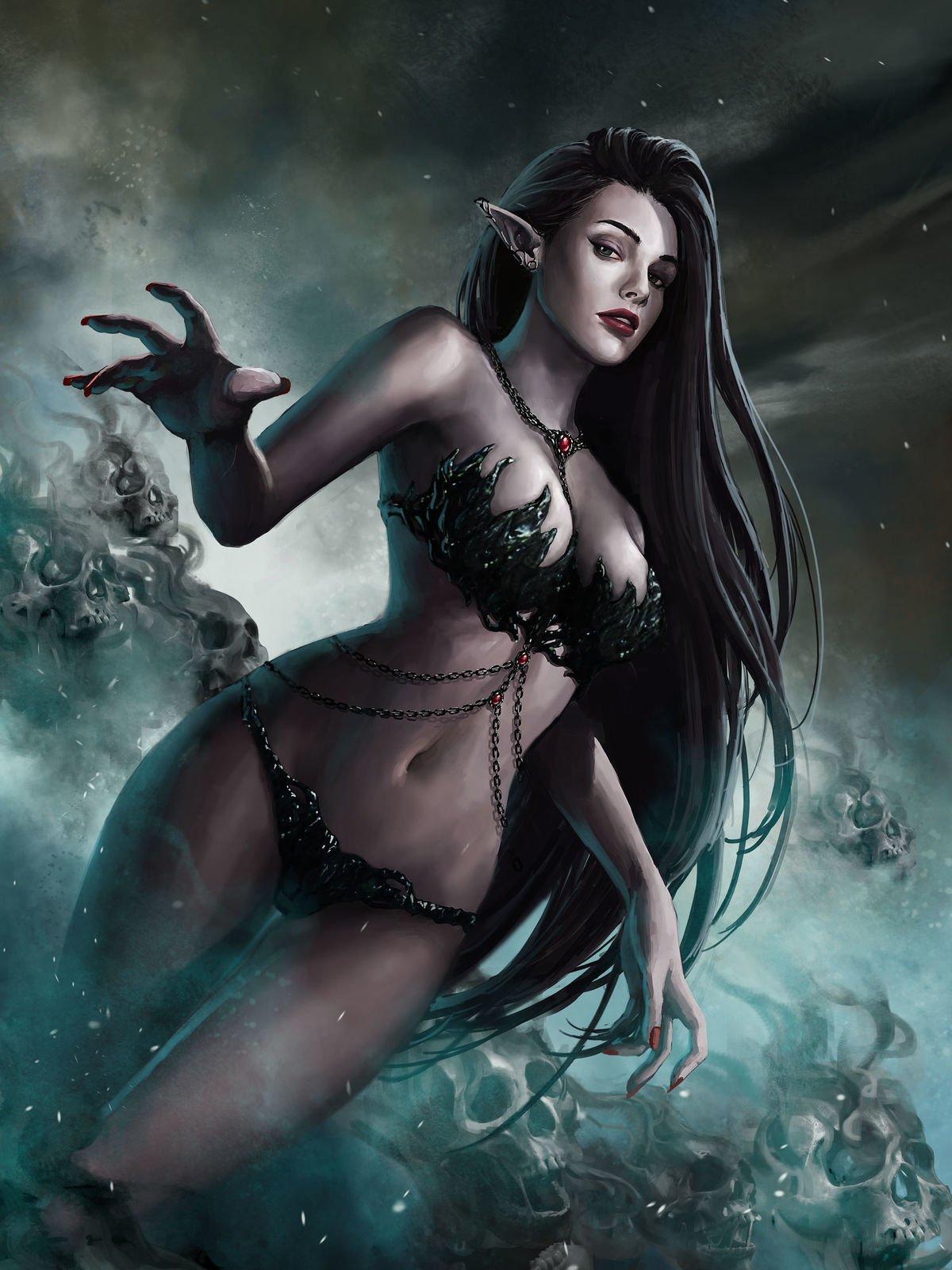 Картинки фэнтези ава черный проститутки