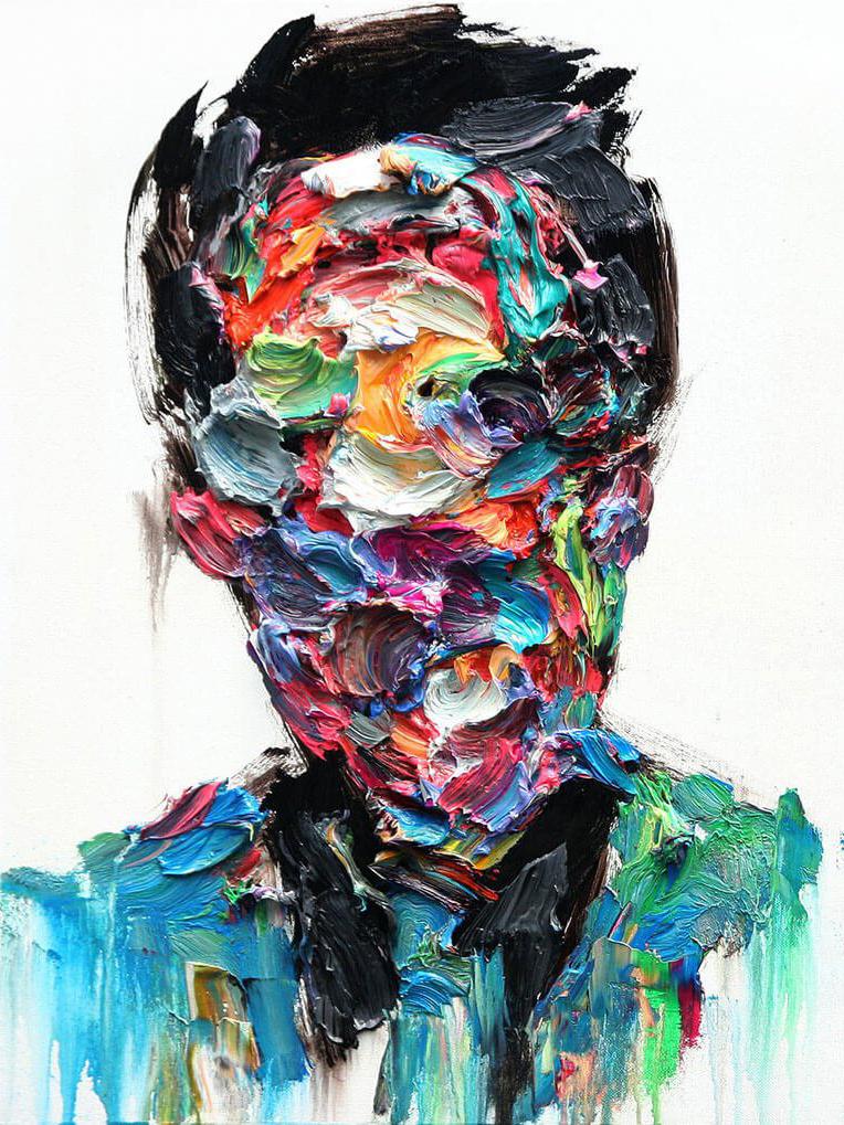 видим, что абстракция мужчина картинки что
