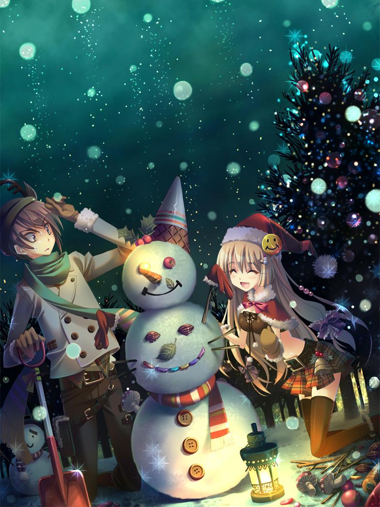 Рождение, аниме новый год открытка
