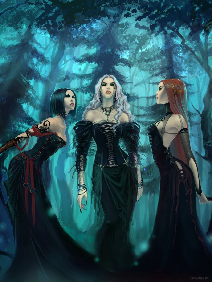 Четыре ведьмы картинка