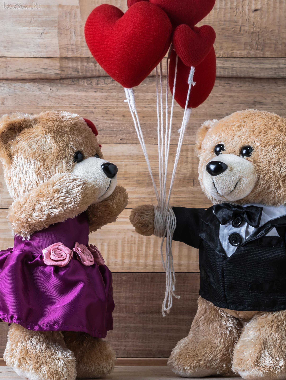 Картинки о любви с медведями
