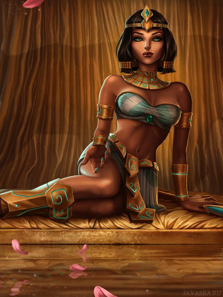 Клеопатра мультик картинки