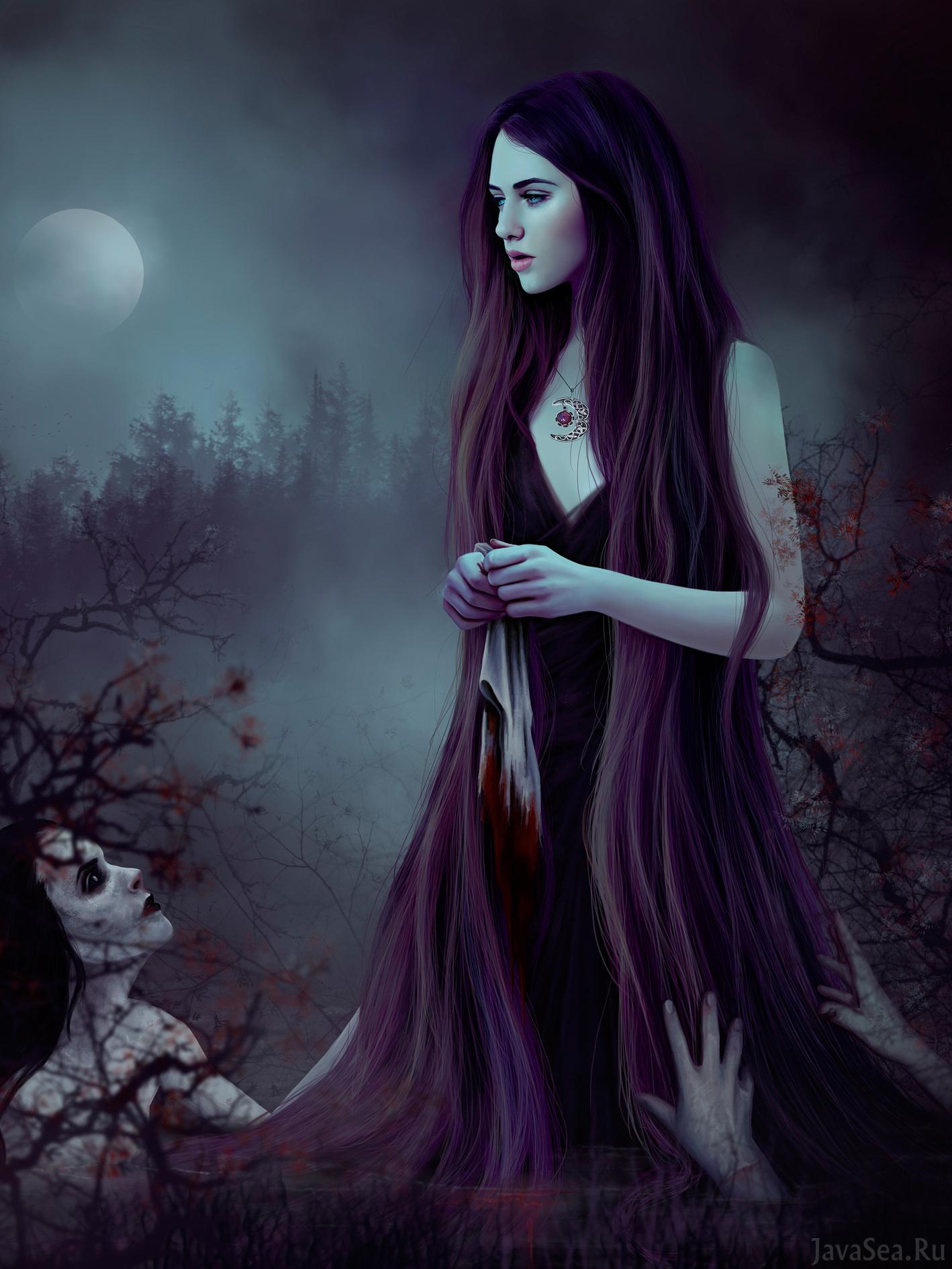 Картинки призрак девочки